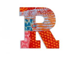 Modern dekor betű fából: R (Djeco, 4827, szobadekoráció, 0-99 év)