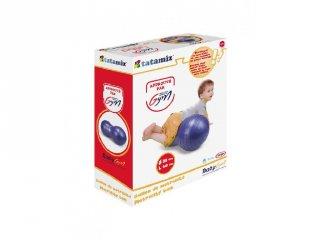 Mogyoró gimnasztika labda, baba mozgásfejlesztő játék