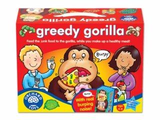 Mohó gorilla (Orchard, 041, hangot is adó társasjáték, 4-8 év)