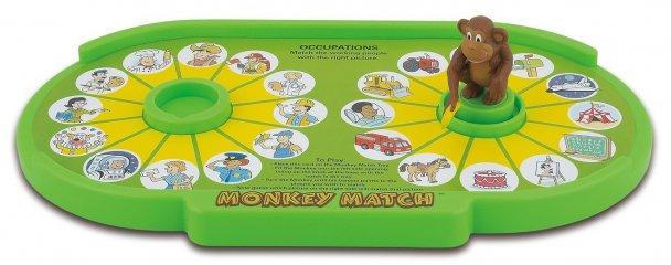 Monkey match, Mutasd meg majom! (Popular, párosító logikai játék, 3-5 év)