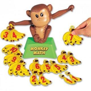 Monkey Math, Matekos majom mérleg (Popular, számokat, számolás, számok felbontását megismertető, logikailag megértető játék, 3-7 év)