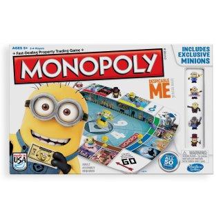 Monopoly Gru, Minion (Hasbro, családi társasjáték, 6-10 év)