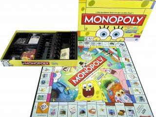 Monopoly Spongyabob (Hasbro, családi társasjáték, 7-12 év)