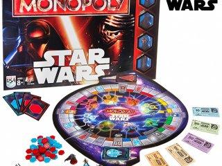 Monopoly Star Wars (Hasbro, Csillagok Háborúja társasjáték, 8-99 év)