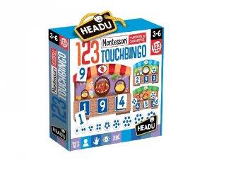 Montessori érintős puzzle társasjáték, számolás (HED, 3-6 év)