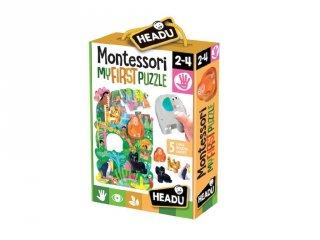 Montessori puzzle A Dzsungel, bébi kirakó (HED, 2-4 év)