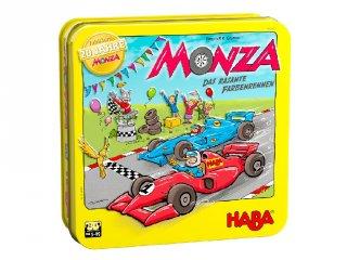 Monza 20 éves jubileumi kiadás, Haba autóversenyzős logikai társasjáték a színekkel (5-10 év)