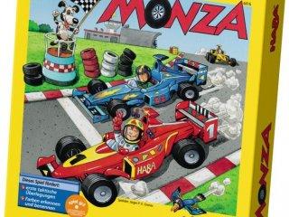 Monza, Autóversenyzős játék (Haba, taktikai-logikai társasjáték a színekkel és autókkal, 4-14 év)