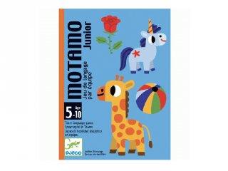 MotaMo Mondandó Junior, Djeco beszélgetős kártyajáték - 5094 (5-10 év)