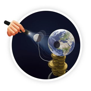 Motorizált Naprendszer megvilágítással, Buki tudományos készlet