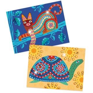 Mozaik kirakó Oaxacan, Djeco kreatív képkészítő szett - 8891 (4-8 év)