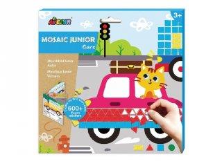 Mozaikkép készítés Autók, kreatív szett (Avenir, 3-6 év)