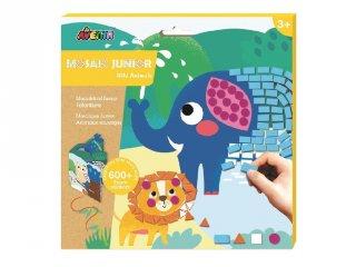 Mozaikkép készítés Vadállatok, kreatív szett (Avenir, 3-6 év)