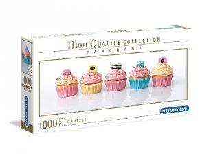 Muffinok panoráma puzzle, 1000 db-os kirakó (CLEM, 9-99 év)