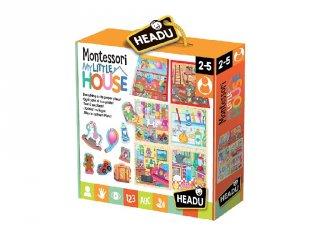 Multifunkciós puzzle Az én kicsi házam, bébi kirakó (HED, 2-5 év)