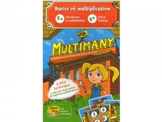 Multimany, matekos társasjáték, Brainy Band (szorzás tanulását segítő játék, 5-10 év)