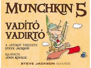Munchkin 5., avagy Vadító Vadírtók (a világ legviccesebb partyjátékának 4.kiegészítője, 10-99 év)
