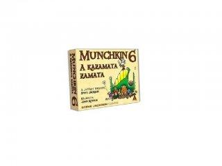 Munchkin 6., A kazamata zamata (Delta Vision, a világ legviccesebb partyjátékának 6. kiegészítője, 12-99 év)