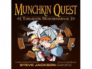 Munchkin Quest (a legviccesebb party társasjáték, 10-99 év)