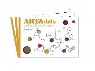 Művészi füzet Kössük össze a pontokat!, kreatív készlet (3-6 év)