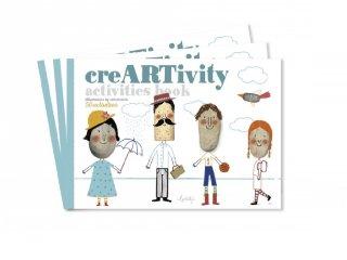 Művészi füzet Légy kreatív!, kreatív készlet (3-6 év)