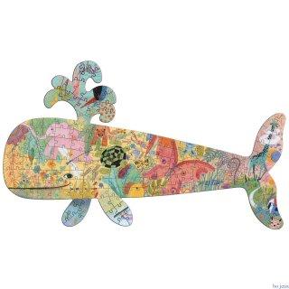 Művészi puzzle Bálna, Djeco 150 db-os kirakó - 7658 (6-14 év)