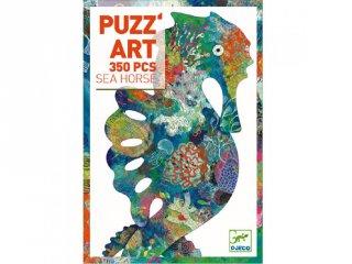 Művészi puzzle, Csikóhal (Djeco, 7653, 350 db-os kirakó, 7-99 év)