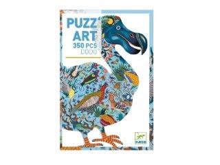 Művészi puzzle Dodó madár, Djeco 350 db-os kirakó - 7656 (7-99 év)