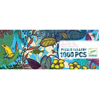 Művészi puzzle Föld és tenger, Djeco 1000 db-os kirakó - 7646 (9-99 év)