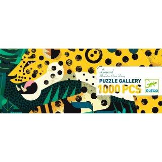 Művészi puzzle, Leopárd, Djeco 1000 db-os kirakó - 7645 (9-99 év)