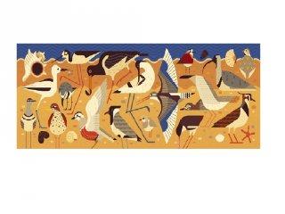 Művészi puzzle, Madarak (Djeco, 7648, 1000 db-os kirakó, 9-99 év)