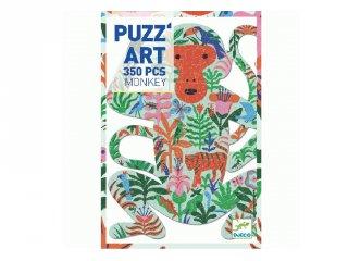 Művészi puzzle Majom, Djeco 350 db-os kirakó - 7657 (7-99 év)