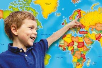 MyMap Az én világtérképem, interaktív felfedező játék (6-12 év)