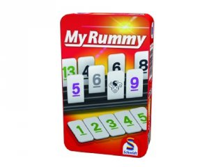 MyRummy, fémdobozos Römi táblajáték (8-99 év)