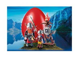 Nagy és kis viking húsvéti tojás (Playmobil, szerepjáték fiúknak, 4-10 év)