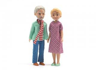 Nagyszülők (Djeco, 7816, babaház lakók, 2 fő, 3-10 év)