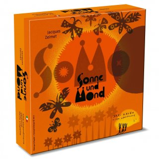 Nap és Hold (Drei Hasen, Sonne und Mond, matekos stratégiai kártyajáték, 8-99 év)