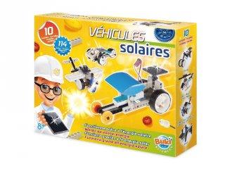 Napelemes járművek, 10 modell (Buki, tudományos építőjáték, 8-16 év)