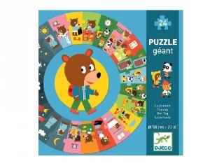 Napirend Djeco nagyméretű 24 db-os történet puzzle - 7015 (3-6 év)