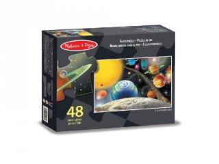 Naprendszer, 48 db-os Melissa&Doug padló puzzle (3-6 év)