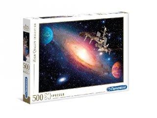 Nemzetközi űrállomás puzzle, 500 db-os kirakó (CLEM, 8-99 év)