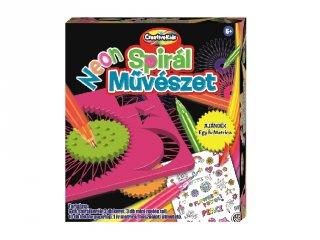 Neon spirál művészet, Creative Kids kreatív készlet (6-12 év)