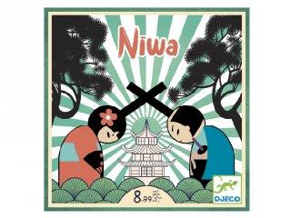 Niwa (Djeco, 8489, kétszemélyes taktikai társasjáték, 8-99 év)