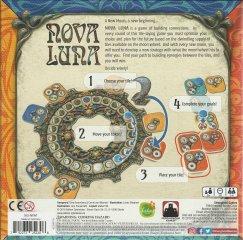 Nova Luna, absztrakt, lapkalehelyezős stratégiai társasjáték (8-99 év)