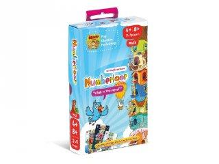 Numberloor - Számlift, Brainy Band matekos kártyajáték (5-10 év)