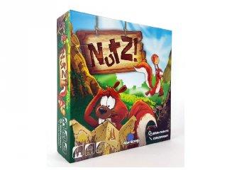 Nutz, kitalálós kártyajáték (mókuskaland, 6-99 év)