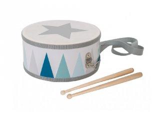 Nyakba akasztható dob, fa játékhangszer (JAB, 3-8 év)