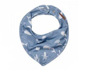 Nyálkendő kék óceános mintával, Little Dutch baba kiegészítő (50120640)