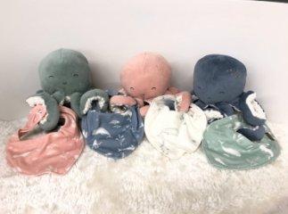 Nyálkendő menta óceános mintával, Little Dutch baba kiegészítő (50120610)