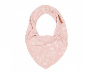 Nyálkendő pink vad virágos mintával, Little Dutch baba kiegészítő (50121050)